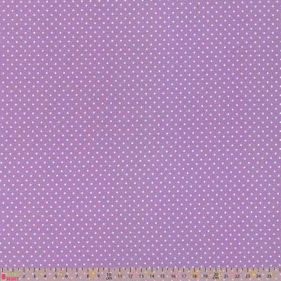 Cotton Fabric - Pinspot Lilac