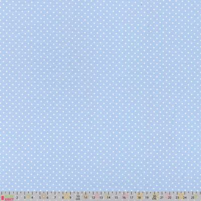 Cotton Fabric - Pinspot Sky