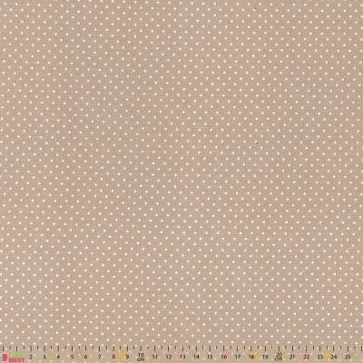 Cotton Fabric - Pinspot Stone