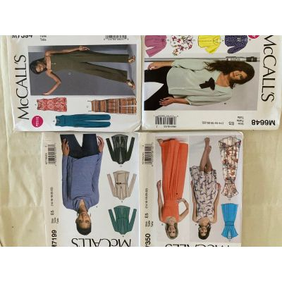 Remnant - Remnant - 4 x McCall's Sewing Patterns - E5- size -14-16-18-20-22 -  End of Line
