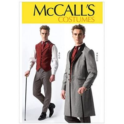 Remnant - McCalls Pattern - M7003 - Sizes S - XXL- Mens Costume