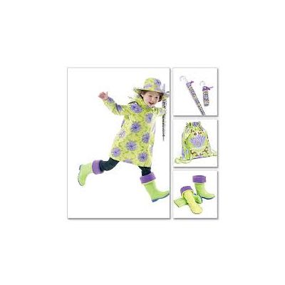 Remnant - Mccalls Pattern - 6392 - Kids -size- 3-4, 5-6, 7-8  - Discontinued