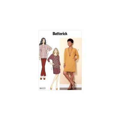 Remnant - Butterick Sewing Pattern B6525 - ZZ - size Lrg - Xlg - Xxl -  End of Line