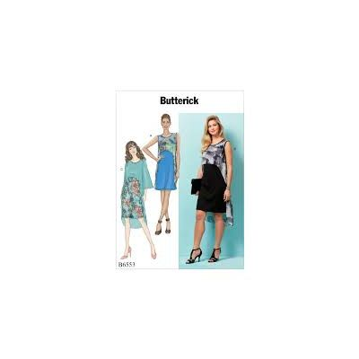 Remnant - Butterick Sewing Pattern B6553 - ZZ- size Lrg - Xlg - Xxl -  End of Line