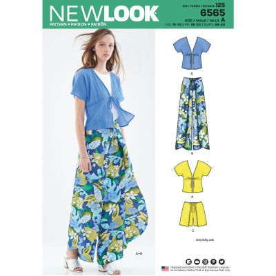 Remnant - New Look Pattern - 6565 - A - (10-20) - End of Line