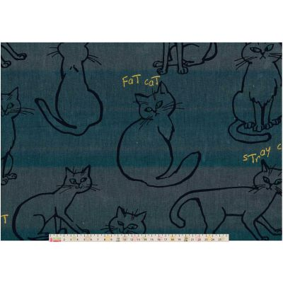 Cosmo - Keio Spoiled Cat Oxford Cloth