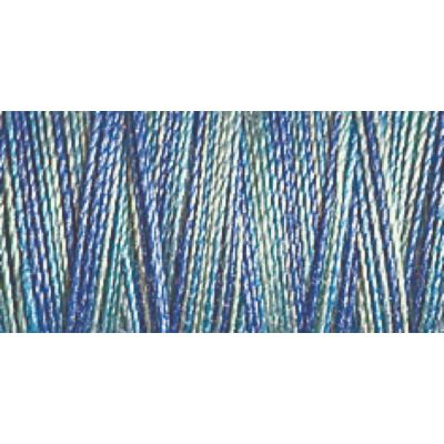 Gutermann 300m Cotton 30 Multicoloured Variagated Sulky Thread - 4014 - 1 x 300m Spool
