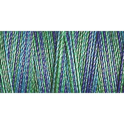 Gutermann 300m Cotton 30 Multicoloured Variegated Sulky Thread - 4016 - 1 x 300m Spool