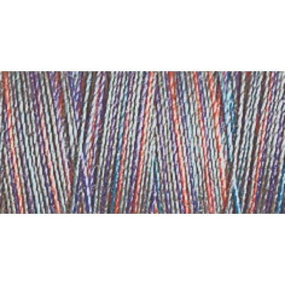 Gutermann 300m Cotton 30 Multicoloured Variagated Sulky Thread - 4031 - 1 x 300m Spool