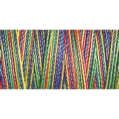 Gutermann 300m Cotton 30 Multicoloured Variegated Sulky Thread - 4106 - 1 x 300 Spool