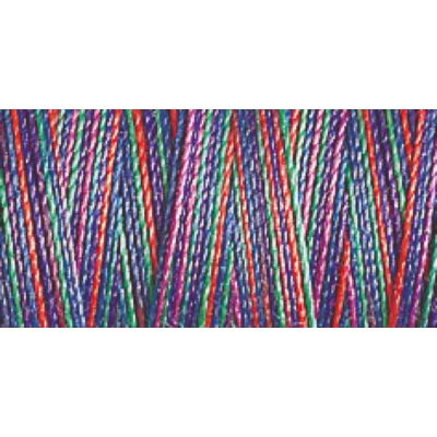 Gutermann 300m Cotton 30 Multicoloured Variagated Sulky Thread - 4109 - 1 x 300m Spool