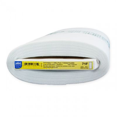 Pellon 71F Peltex - Single Sided Fusible Ultra Firm Interfacing 50.8cm Wide