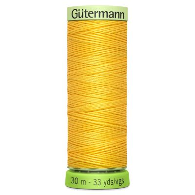 Gutermann Recycled Polyester Top Stitch Thread - 30m Strong Decorative Functional Sewing Thread - Colour 417