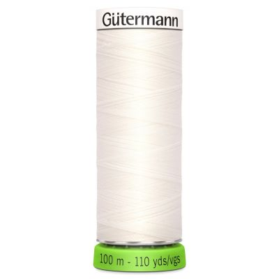 Gutermann Recycled Polyester Sew-All Thread - 100m General Purpose Sewing Thread - Colour 111