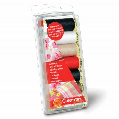 Gutermann 7 x 100m Sew-All Assorted Thread Set