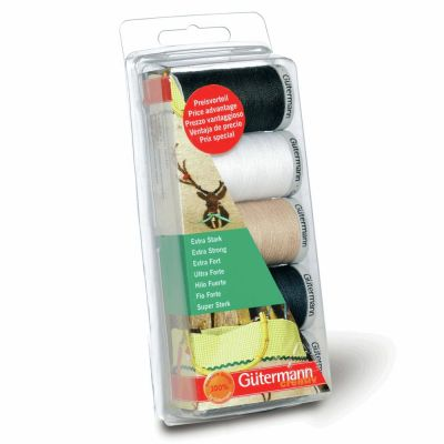 Gutermann 5 x 100m Extra Strong Assorted Thread Set