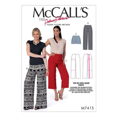 Remnant - Mccalls Pattern - 7415 - size 6-22  - Discontinued