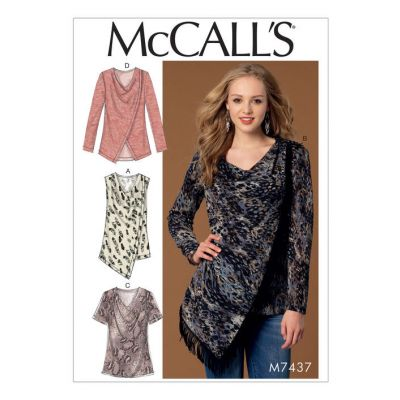 Remnant - Mccalls Pattern - 7437 - size Y- size Xsm-Sml-Med  -  End of Line