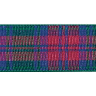 Berisfords Woven Edge Lindsay Tartan Ribbon - 6 Widths