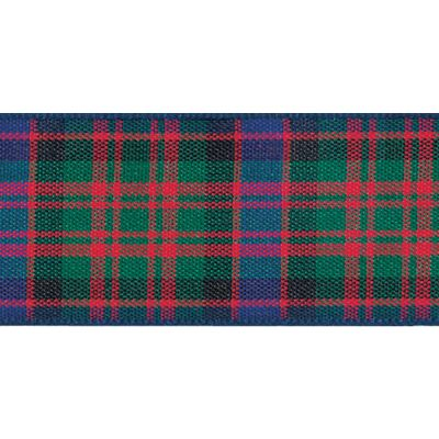 Berisfords Woven Edge Macdonald Tartan Ribbon - 6 Widths