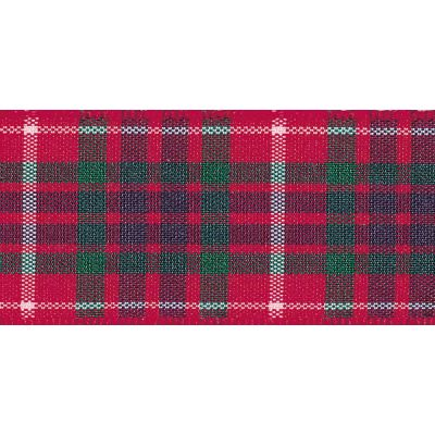 Berisfords Woven Edge Frazer Tartan Ribbon - 6 Widths