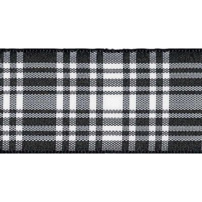 Berisfords Woven Edge Menzies Tartan Ribbon - 6 Widths