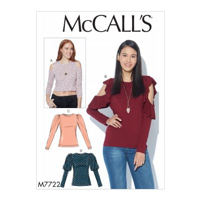 Remnant - Mccalls Pattern - 7722 - size OSZ  -End of Line