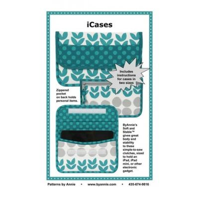 ByAnnie Sewing Pattern -  ICases Pattern