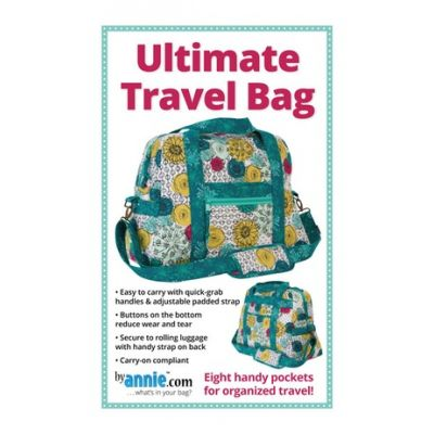 ByAnnie Sewing Pattern -  Ultimate Travel Bag Pattern
