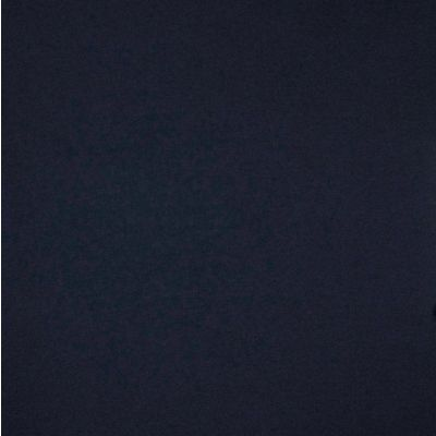 Solid Colour Organic Bamboo Jersey Fabric - Navy