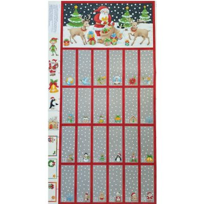 Nutex - Advent Calendar Panel - 60cm - With Option For A Kit
