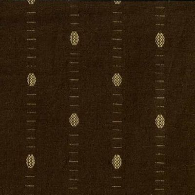 Remnant - Blank - Intermix Cotton Dobby - Dot Brown - 41 x 110cm