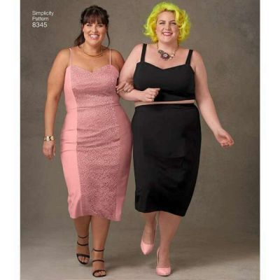 Remnant - Simplicity Pattern - 8345 Plus -  size G5 (26w-34w) - Old Stock