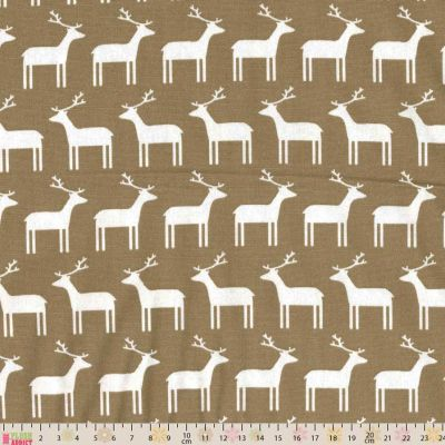 Sevenberry - Reindeer Taupe Oxford Cloth