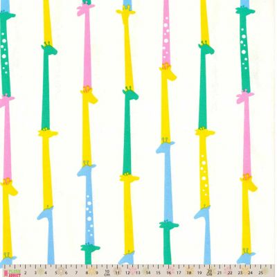 Sevenberry - Giraffes Bright Oxford Cloth