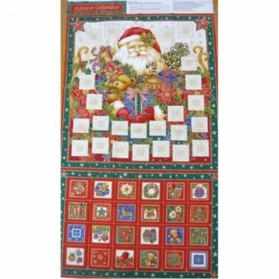 Nutex - Traditional Advent Calendar Panel - 60cm