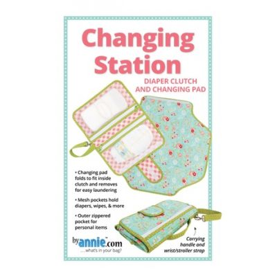 ByAnnie Sewing Pattern -  Changing Station Pattern