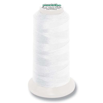 Madeira Aerolock 2500m Overlocker Spool - Colour 8010 White