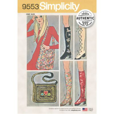 REMNANT - - Simplicity Pattern - 9553 - OSZ  - Old Stock
