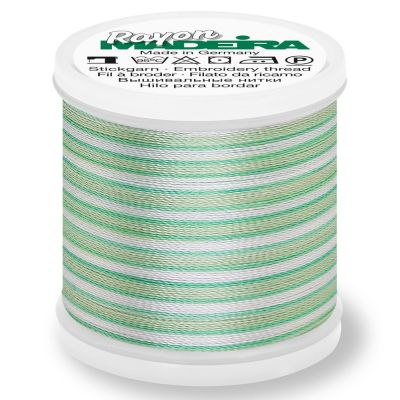 Madeira Rayon No 40 Machine Embroidery Thread 200m Reel - Ombre Colour 2020