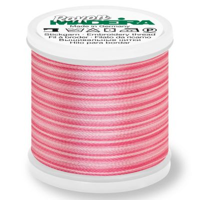 Madeira Rayon No 40 Machine Embroidery Thread 200m Reel - Ombre Colour 2021