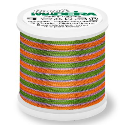 Madeira Rayon No 40 Machine Embroidery Thread 200m Reel - Multi-Colour 2143