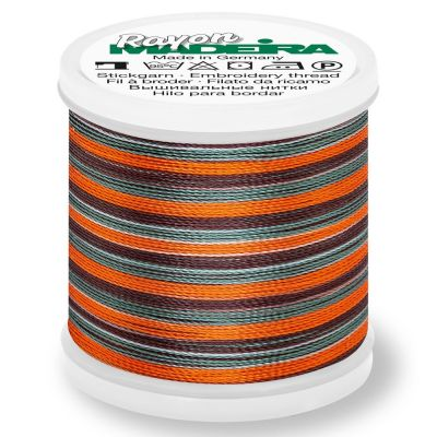 Madeira Rayon No 40 Machine Embroidery Thread 200m Reel - Multi-Colour 2144