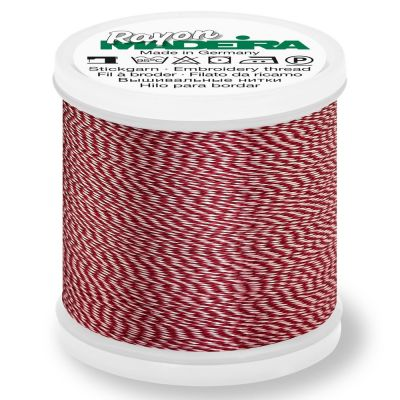 Madeira Rayon No 40 Machine Embroidery Thread 200m Reel - Melange Colour 2201