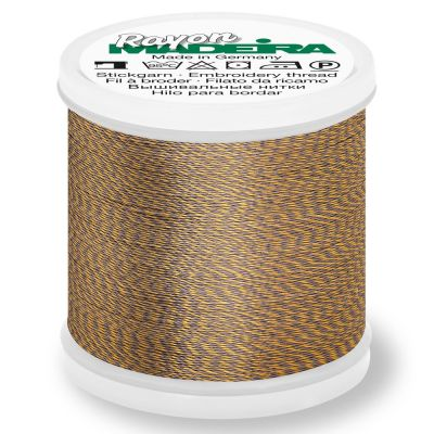 Madeira Rayon No 40 Machine Embroidery Thread 200m Reel - Melange Colour 2210
