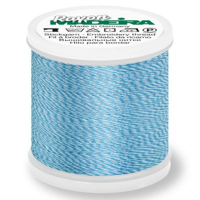 Madeira Rayon No 40 Machine Embroidery Thread 200m Reel - Melange Colour 2216