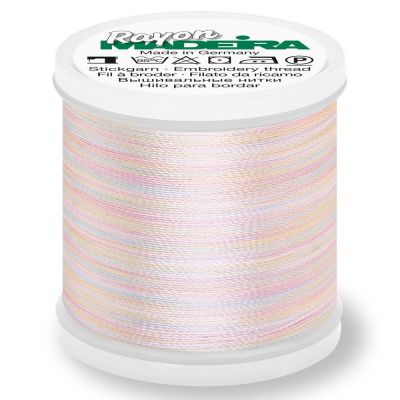 Madeira Rayon No 40 Machine Embroidery Thread 200m Reel - Potpourri Colour 2301