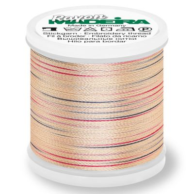 Madeira Rayon No 40 Machine Embroidery Thread 200m Reel - Potpourri Colour 2302