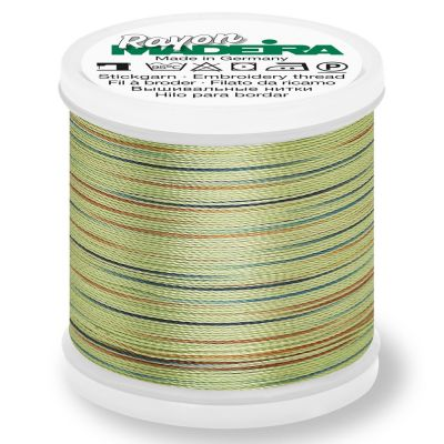 Madeira Rayon No 40 Machine Embroidery Thread 200m Reel - Potpourri Colour 2303
