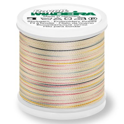 Madeira Rayon No 40 Machine Embroidery Thread 200m Reel - Potpourri Colour 2304